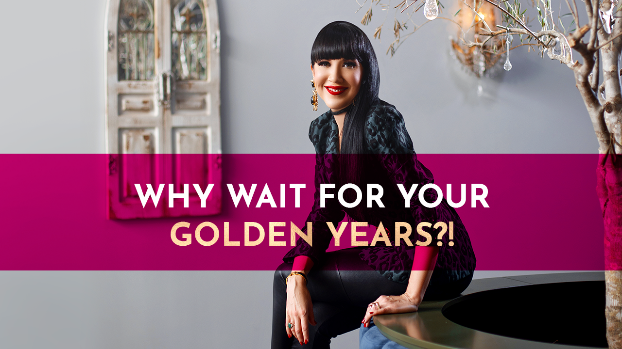 Why wait for your golden years?! 🤔