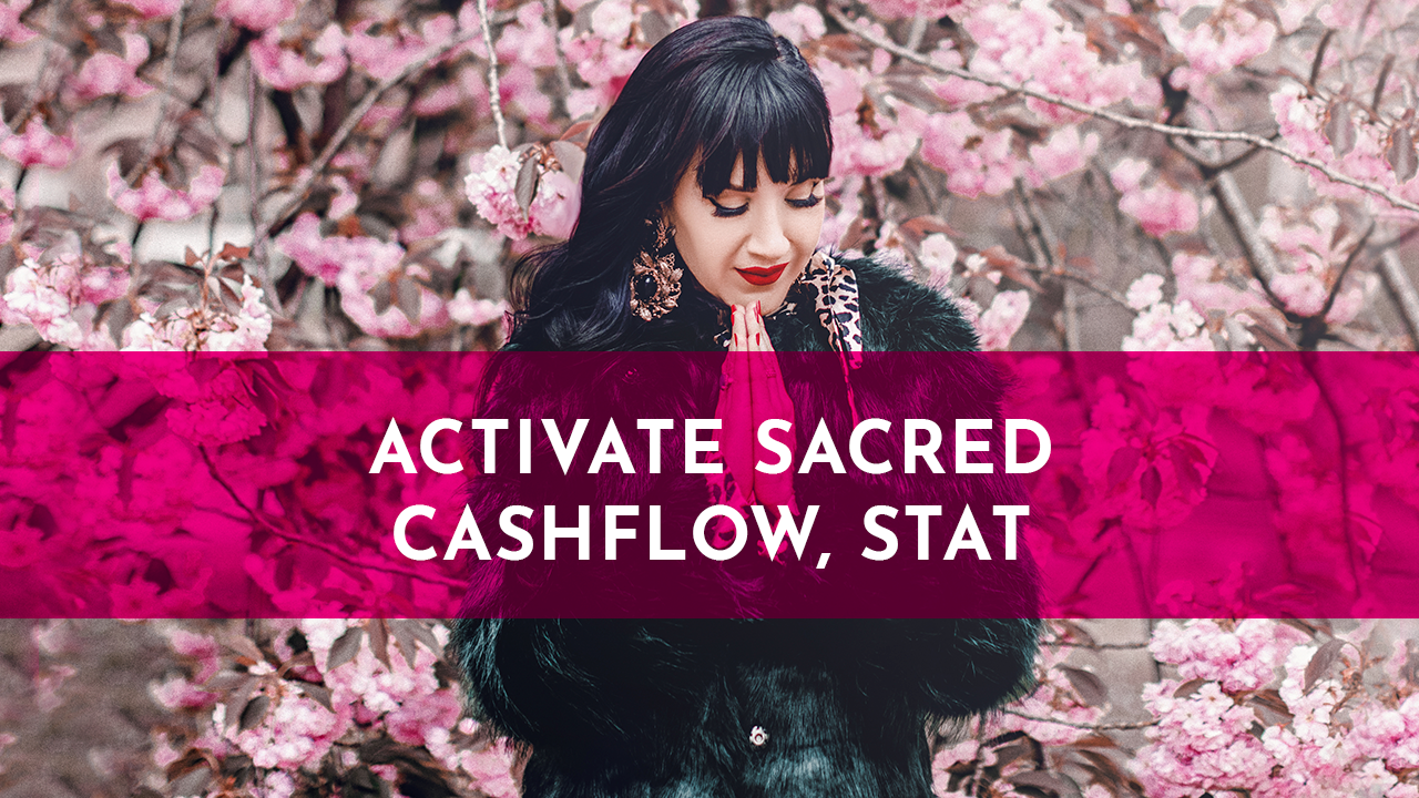 Activate sacred cashflow, STAT ▶️